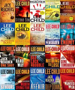 Books for SALE LEE CHILD REACHER BOOKS