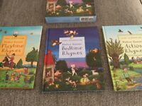 Axel Scheffler nursery rhymes set of 3