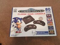 Sega Mega Drive Classic Game Console. NEVER USED