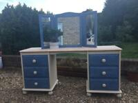 Beautifully refurbished Dressing table with mirror