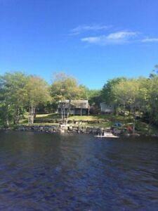 Year Round Lakefront House  for Sale - Tangier NS