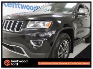 2014 Jeep Grand Cherokee Limited- sunroof, leather power seat! C