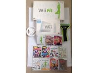 Wii console, Wii fit, Games & accessories