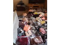 500 BULK WHOLESALE job lot liquidation womens clothes stock