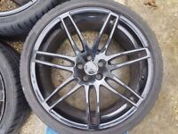 4 x Genuine Audi RS5 alloy wheels