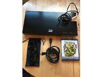 Samsung 3D Blu-Ray player BD-C5900 - HDMI cable - 1 x 3D Glasses - Shrek 3 & 4 Blue ray 3D versions