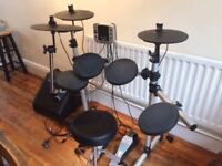 Digital drums 400 Compact with amplifier and stool