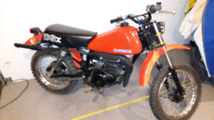 Ds 80 susuki two  stroke just rebuilt  with ownership