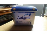 Aptamil infant milk- for sale.