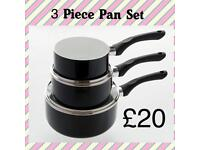 3 Piece Pan Set