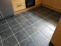 31 B&Q 'Calcutta' floor tiles
