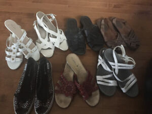 Ladies shoes and sandals - size 11