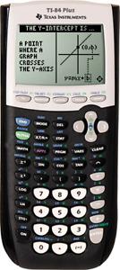 TI 84 Plus Texas Instruments Graphic Calculator