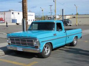 1967   1968  Mercury Pickup
