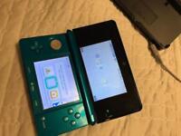 Aqua Blue Nintendo 3DS