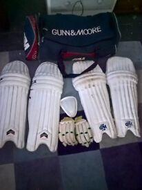 gunn and more pads bat pads bag