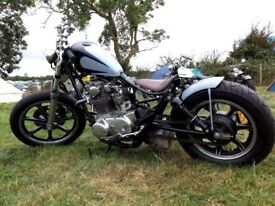 XS650 custom bobber chopper. well sorted!