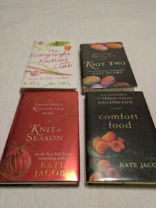 Hardcover Books by Kate Jacobs ~ Friday Night Knitting Club
