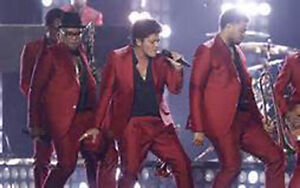 Slide into great 1ST ROW+ balcony seats for  BRUNO MARS in TO