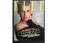 Elle magazines, 3 copies; 1986, '87 & '88.