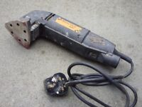 B & Q 180W Electric Detail Sander 90mm - Full Working Order