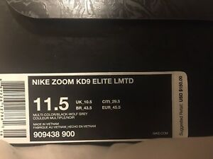 Kd 9 elite LIMITED (very rare colour way)