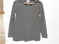 JoJo Maman Bebe breton stripe maternity top size s