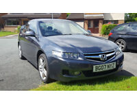 Honda Accord 4Dr Saloon 2.2i CTDi Sport 2007 charcoal