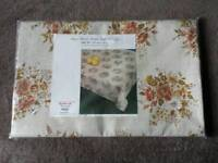 Milantex Oro Sanitized Rayon Flannel Tablecover/ Tablecloth 140cm x 182cm - BNIB
