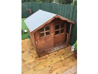 Wooden playhouse 5ftx5ft