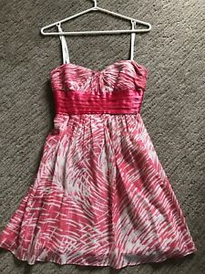 BCBG dress size 0 pink