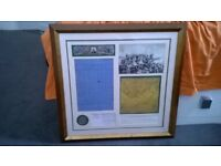 Charge of the Light Brigade framed set of reproductions (Limited edition)
