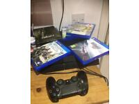 PS4 and Games Bundle