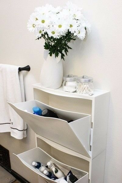 Ikea trones shoe storage/cabinet/unit - 3 pieces in white | in ...