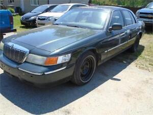 2002 Mercury Grand Marquis LSE, AS IS.