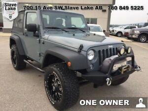 2015 Jeep Wrangler Sport ..LIFTED,ONE OWNER,LOW MILEAGE.!!