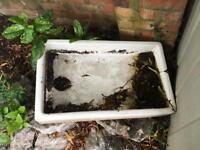 Old farmhouse sink