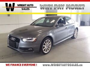 2016 Audi A4 LEATHER|SUNROOF|62,759 KMS