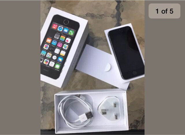 Apple IPhone 5s 16GB excellent condition EEin Shoreham by Sea, West SussexGumtree - Iphone 5s space Grey 16gb on EE comes with box, USB with wall plug, headphones and a clear protective case. Used for a month only