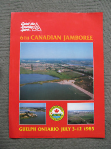 Scouts Jamboree Poster Guelph 1985
