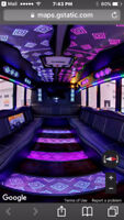 Party Bus Edmonton, Limo , Wedding, Concert, Eskimos,Limousine !