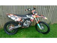 Ktm sxf 250 motocross bike, off road