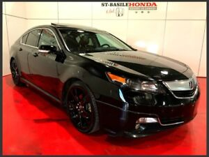 Acura TL SH-AWD ELITE + KIT DE JUPE + CUIR ORANGE 2013