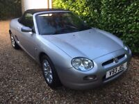 1999 MGF convertible 46k - 1 years MOT