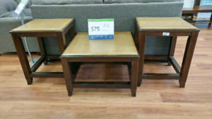 Mandoro coffee and end table set