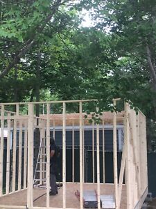 Do you need a small building/shed or deck built