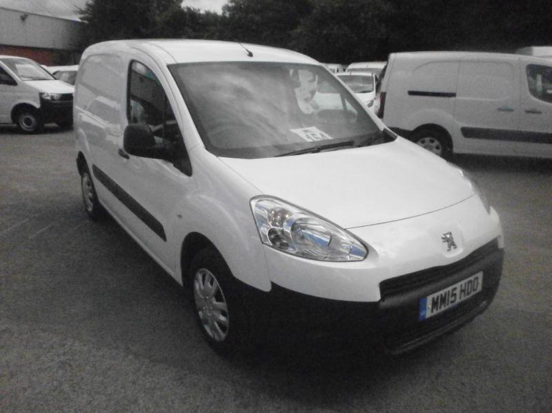 Peugeot Partner L1 850 S 1.6 Hdi 92 Van DIESEL MANUAL WHITE (2015)