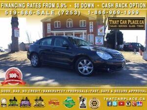 2010 Chrysler Sebring Limited-$47/Wk-Lthr Htd Fr Sts-Sunroof-AUX