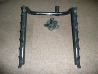 Bike rack to carry 4 bikes, for a Land Rover Discovery/Defender