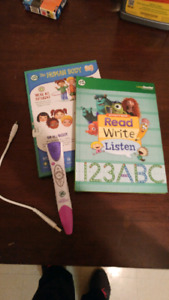 LEAP FROG BOOKS AND PEN